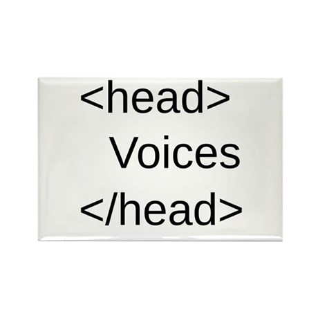 Funny HTML Code Rectangle Magnet (10 pack)