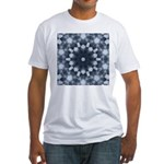 Clouds IV Fitted T-Shirt