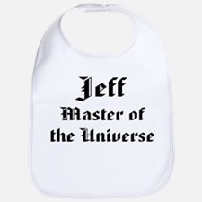 Personalized Jeff Bib