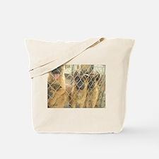 Cute BT Puppies Tote Bag