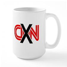 X over CNN Mug