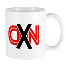 X over CNN Small Mug