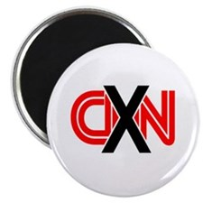 """X over CNN 2.25"""" Magnet (100 pack)"""