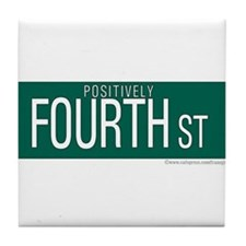 Positively 4th Street Tile Coaster