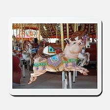 Carousel Boar Mousepad