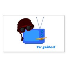 Television Producer Rectangle Decal