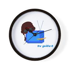 Television Producer Wall Clock