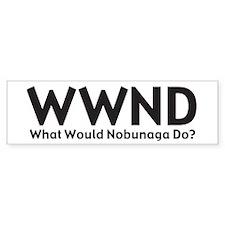 WWND Bumper Bumper Sticker