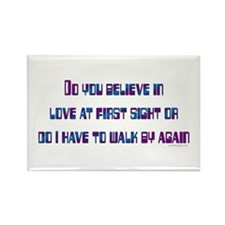 Love at first sight Rectangle Magnet