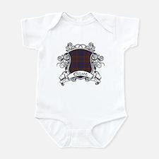 Elliot Tartan Shield Infant Bodysuit
