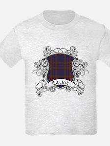 Elliot Tartan Shield T-Shirt