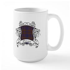 Elliot Tartan Shield Mug
