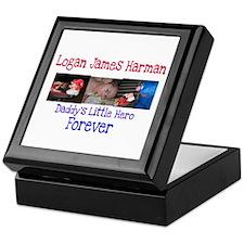 Daddy's Hero Keepsake Box
