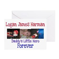 Daddy's Hero Greeting Cards (Pk of 10)