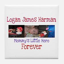 Mommy's Hero Tile Coaster