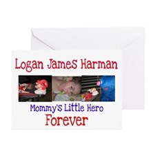 Mommy's Hero Greeting Cards (Pk of 10)