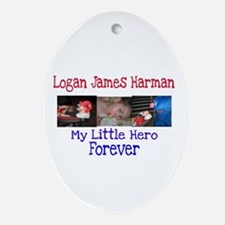 My Hero Oval Ornament
