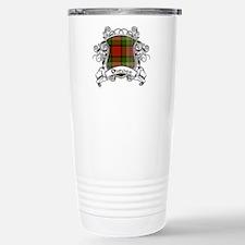 Dundee Tartan Shield Travel Mug