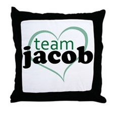 Twilight Team Jacob Throw Pillow