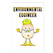 Environmental Eggineer Postcards (Package of 8)