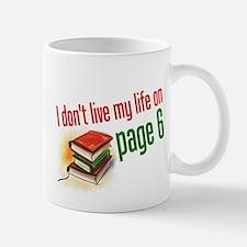 """""""Page Six"""" Mug"""