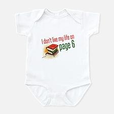 """""""Page Six"""" Infant Bodysuit"""