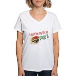 """Page Six"" Women's V-Neck T-Shirt"