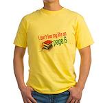 """""""Page Six"""" Yellow T-Shirt"""
