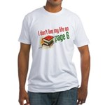 """""""Page Six"""" Fitted T-Shirt"""