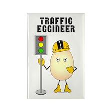 Traffic Eggineer Rectangle Magnet