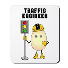 Traffic Eggineer Mousepad
