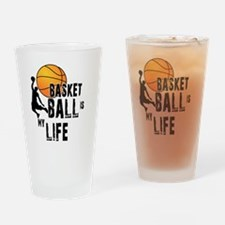 Unique Fantasy basketball Drinking Glass