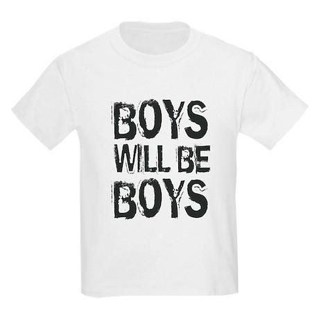 """Boys Will Be Boys"" Kids Light T-Shirt"