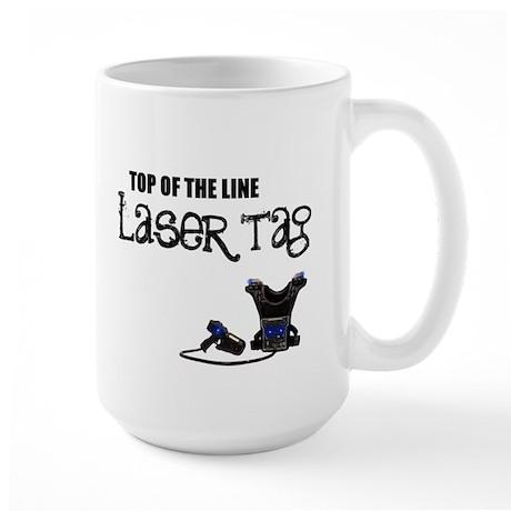 """Laser Tag"" Large Mug"