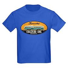 Kenosha Streetcar Kids Dark Colored T-Shirt