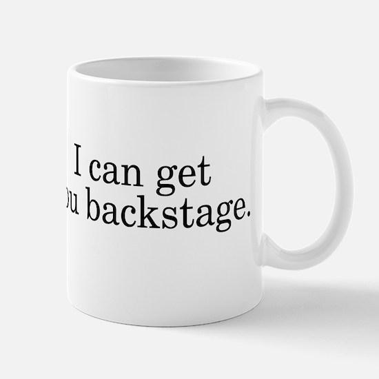 Get You Backstage Mug