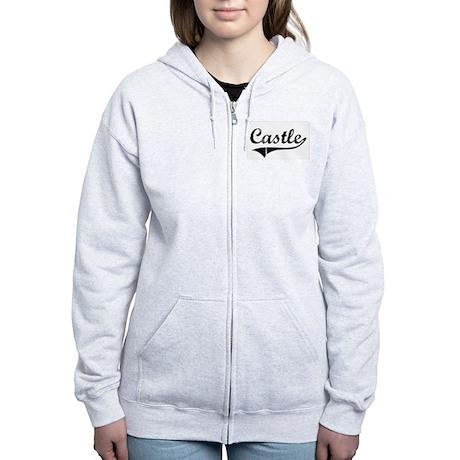 """""""Castle Team"""" Women's Zip Hoodie"""