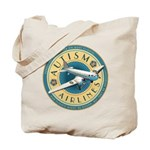 Autism Airlines Tote Bag