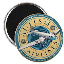 Autism Airlines Magnet