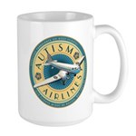 Autism Airlines Large Mug