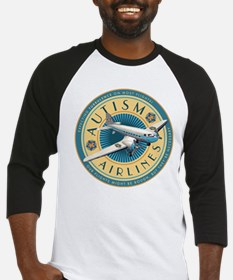 Autism Airlines Baseball Jersey