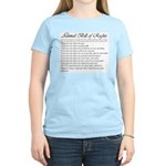 Animal Bill of Rights Women's Pink T-Shirt