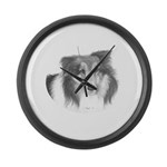 Boots Large Wall Clock