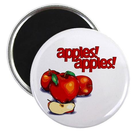 """Apples! Apples!"" Magnet"