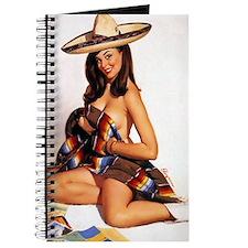 Vintage Spanish Girl Journal