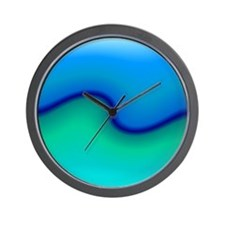 Water, Waves, Beach Wall Clock
