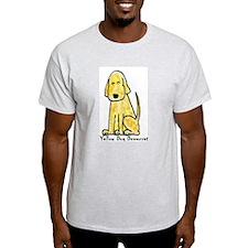 Yellow Dog Democrat (Ash Grey T-Shirt)