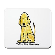 Yellow Dog Democrat (Mousepad)