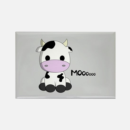 Cute baby cow cartoon Magnets