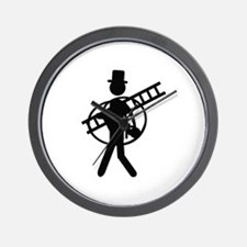 chimney sweeper icon Wall Clock